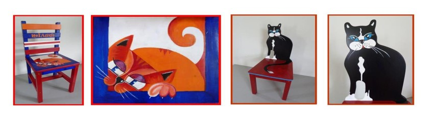 rode & zwarte kat