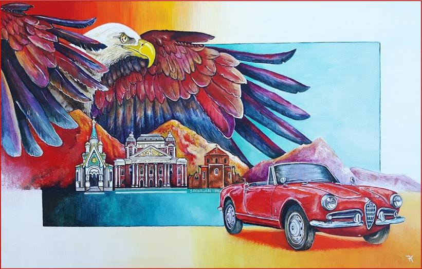 bulgarije bald eagle